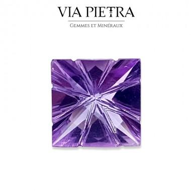 Améthyste naturelle violet foncé, taille Fantaisie, Brésil