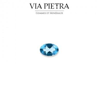 Apatite Paraïba vert d'eau bleu Madagascar, gemme lithothérapie