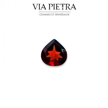 Grenat rouge, almandin pyrope