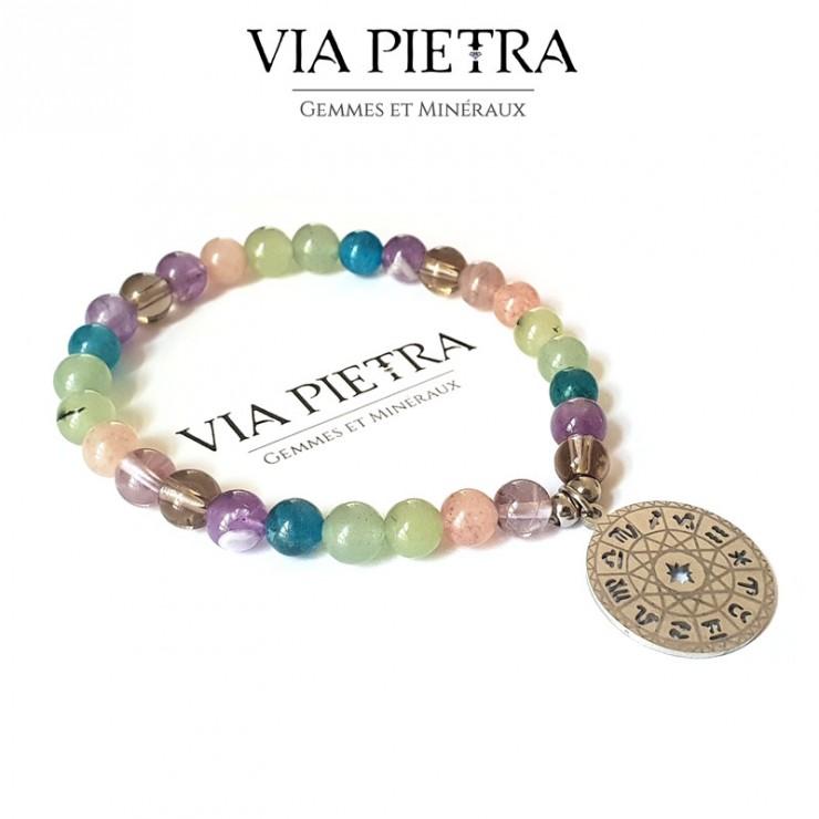 Bracelet Voyage Initiatique Via Pietra, personnalisé, unique, Chemin de Vie