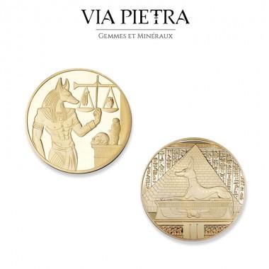 Pièce amulette Egypte Anubis, dieu de la mort