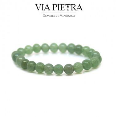 Bracelet Aventurine lithothérapie, propriété, vertu, litho, bien être, bienfait, soin par les pierres