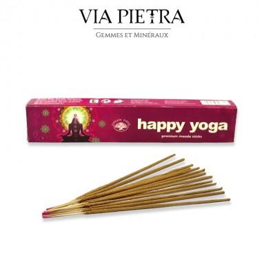 Encens Happy Yoga Green tree, encens relaxation, méditation